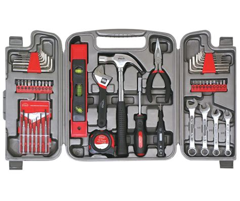 best tools to around the house apollo tools 53 piece household tool kit dt9408
