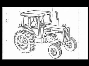 Massey Ferguson Mf 1155 Tractor Parts Manual  U0026 Diagrams
