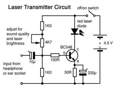 laser circuit page  light laser led circuits nextgr
