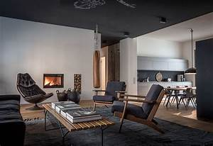 Interior Design Berlin : 4 beautiful dark themed homes ~ Markanthonyermac.com Haus und Dekorationen