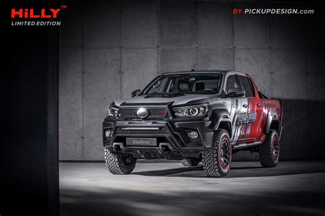 carlex design shifts gears  transforms toyota hilux