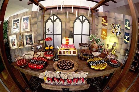 karas party ideas brazilian harry potter birthday party