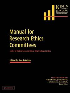Manual For Research Ethics Committees  Centre Of Medical
