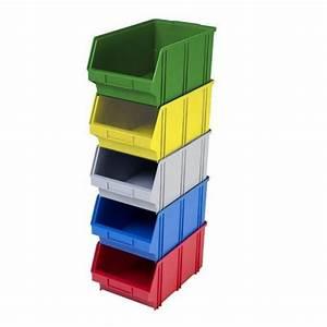 Bac De Rangement : bac de rangement en plastique jaune ~ Edinachiropracticcenter.com Idées de Décoration