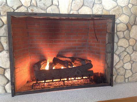 custom fireplace doors custom place screens and door