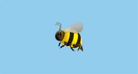honeybee emoji  apple ios