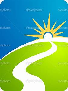 Road path — Stock Vector © magagraphics #9770140