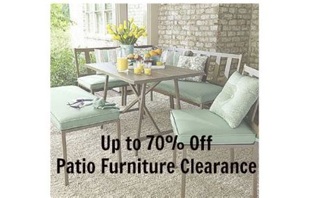 patio furniture clearance 70 at kmart southern