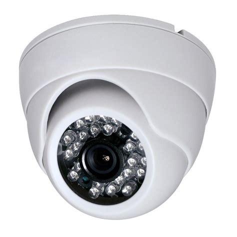 Cctv Dome White 1 3 Inch Cmos 700tvl 24 Led Ir Cut Security Indoor