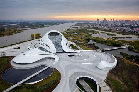 Harbin Opera House in China by MAD Architects