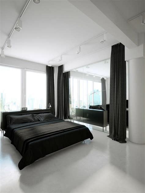 deco chambre noir et blanc d 233 co noir et blanc avec touches de couleur chambre 224 coucher