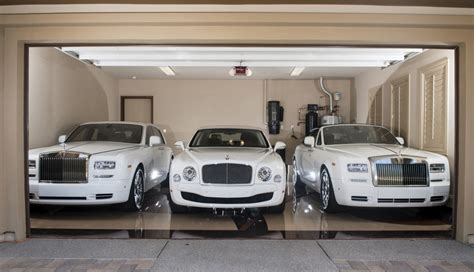 All White Cars by Floyd Mayweather S All White Car Collection Is