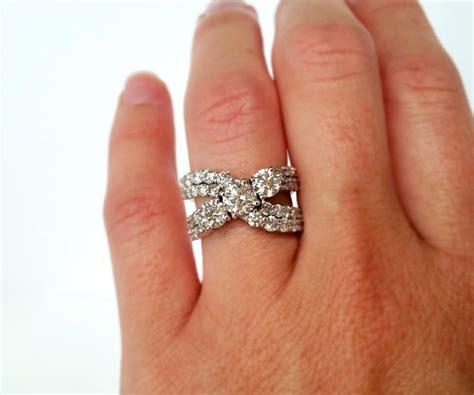 contemporary wedding ring redesign ambrosia