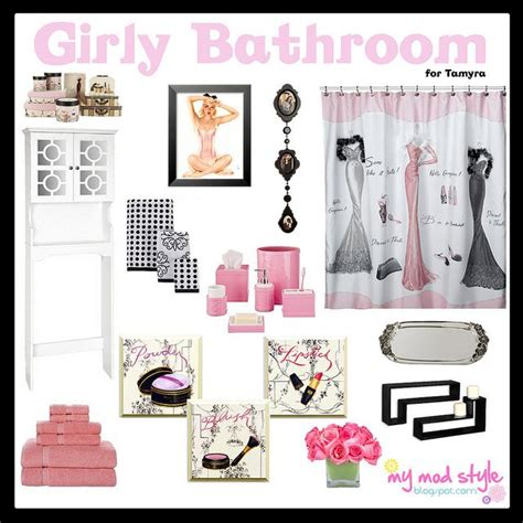 Girly Bathroom Accessories Sets by Girly Bathroom Bathroom Decor Bathroom