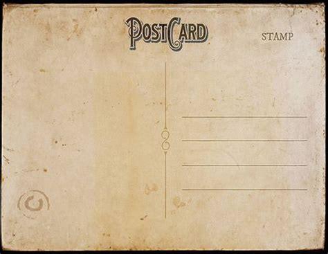 Vintage Postcard Template Vintage Backgrounds Vintage Postcard Template Back 2 Tamar