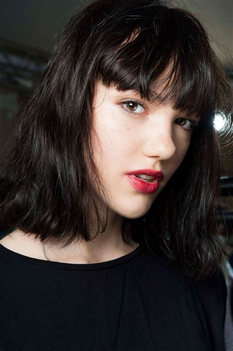 great fringe ideas for bangs newbies