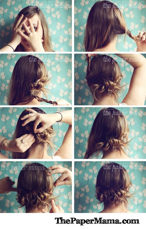 clever  interesting tutorials   hairstyle