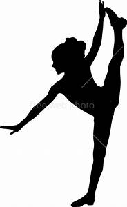 Free coloring pages of silhouette dancer