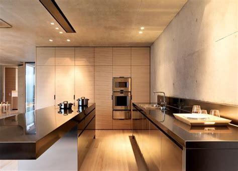 Inspiration Küche Aus Sichtbeton Und Holz  Bild 19