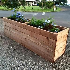 Bac En Bois Pour Plantes : 1001 tutoriels et id es pour fabriquer une jardini re en ~ Dailycaller-alerts.com Idées de Décoration