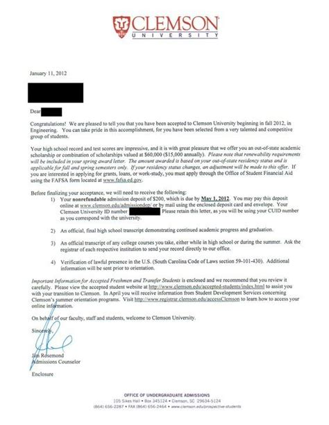 offer letter school quora