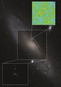 Microquasar found in neighbor galaxy: First of its type ...