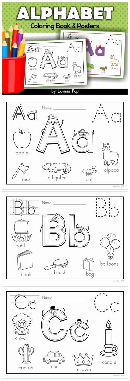 alphabet coloring books alphabet coloring book and posters vowel sounds