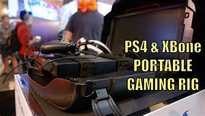 Make Your PS4 XBone A PORTABLE Gaming Rig Bluntytv