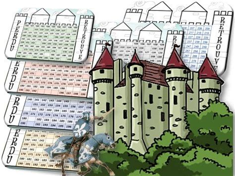 le chateau des nombres jeu perduretrouve
