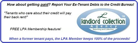 landlord protection agency free forms landlord protection agency free rental forms credit reports