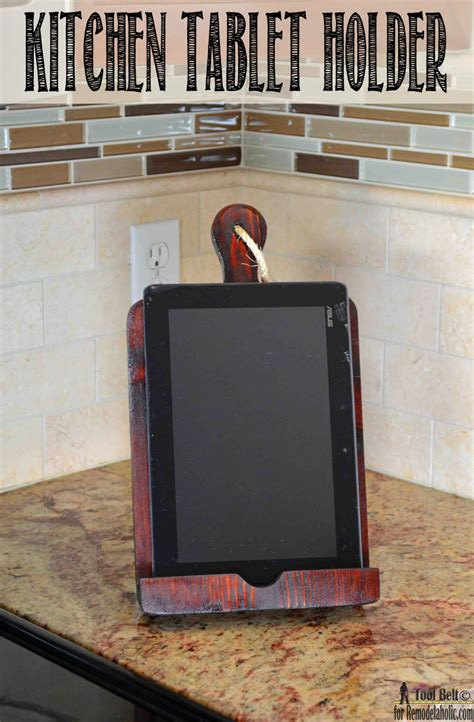 remodelaholic     tablet holder