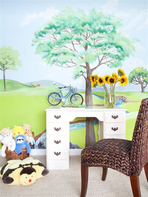 tips  tricks  creating wall murals   kids room diy