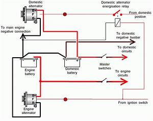 Battery Alternator Wiring Diagram For Starter