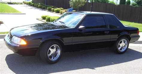 1993 ford mustang coupe black 1993 ford mustang coupe mustangattitude photo