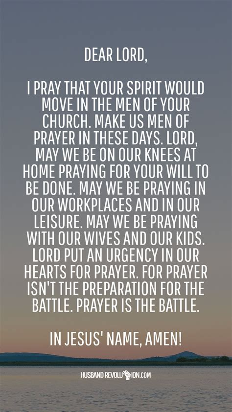 marriage prayer men  prayer