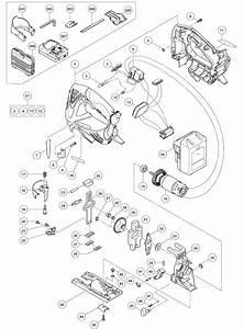 Buy Hitachi Cj18dslp4 18v Lithium Ion Jig Replacement Tool