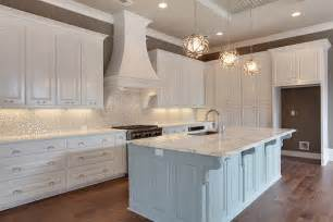 white kitchen glass backsplash white and silver iridescent tile backsplash transitional kitchen