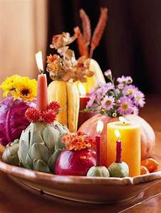 21, Candles, Centerpiece, Ideas, For, Thanksgiving, Decorating, On, Small, Budget
