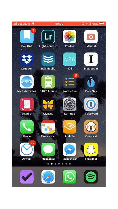 Apps Iphone Screen Ios App Icon Folder
