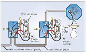 Three Way Electrical Switch Wiring Diagram