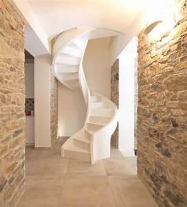 Escalier Colimaçon Beton : escalier en colima on en b ton eli ca 13 ~ Melissatoandfro.com Idées de Décoration