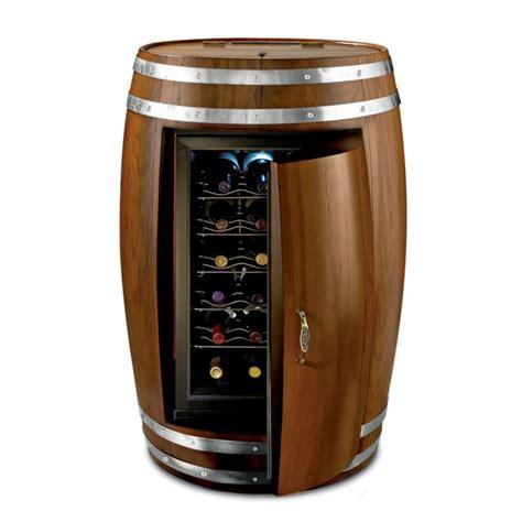 modern metal wall wine barrel refrigerator the green