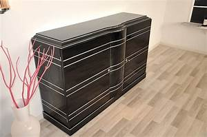 Art Deco Sideboard And Chromeliner For Sale At 1stdibs