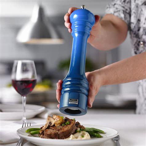 trudeau ombre professional pepper mill   blue