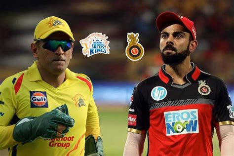 IPL 2019 CSK vs RCB: When And Where To Watch Live ...