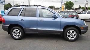2003 Hyundai Santa Fe  Sky Blue - Stock  10877