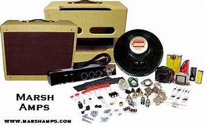 Marsh 5e3 Amp Kit  Complete With Cab  Speaker And Step By