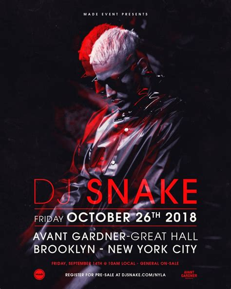 dj snake brooklyn ra dj snake at avant gardner new york
