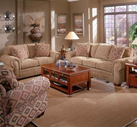 5054 cambridge 2 piece loveseat and sofa group by broyhill