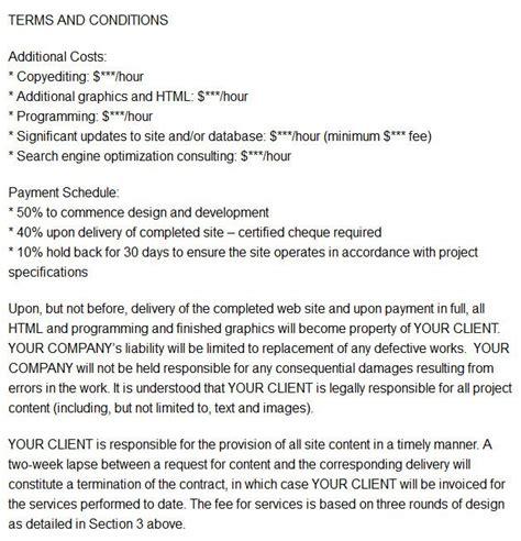 good web design contract web design contract freelance